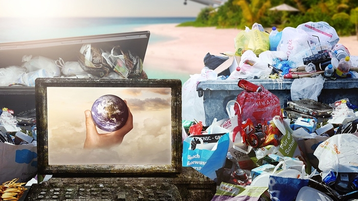 Riciclaggio materiale plastico per investimenti green
